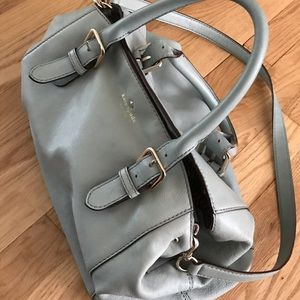 Kate Spade Mint Blue/Green Satchel